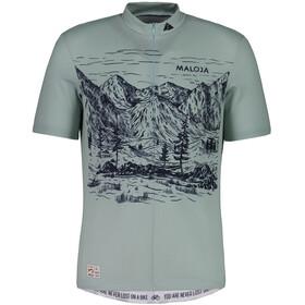 Maloja SerlasM. Short Sleeve Bike Jersey Men cliff